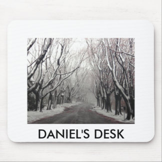 DANIEL'S DESK MOUSE PAD