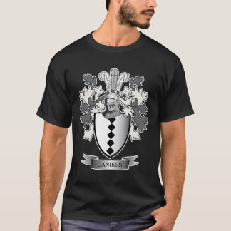 Daniels Family Crest Coat of Arms T-Shirt
