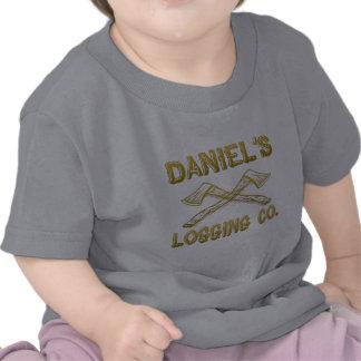 Daniel's Logging Company Tee Shirts