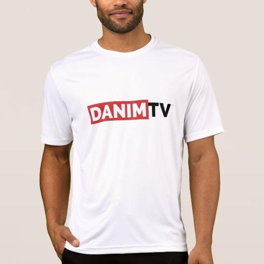 Danim TV Official Logo Sport-Tek TShirt Mens White