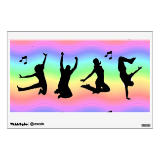 Daning Silhouettes Wall Decal
