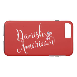 Danish American Entwined Hearts Mobile Phone Case