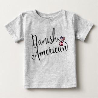Danish American Entwinted Hearts Tee Shirt