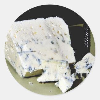 Danish Blue Cheeses Round Sticker
