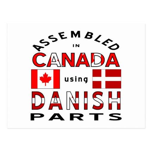 Danish Canada Parts Post Cards