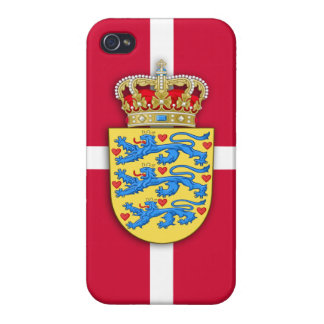 Danish Coat of Arms iPhone Case iPhone 4 Cases