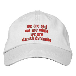 Danish Dynamite Embroidered Hat