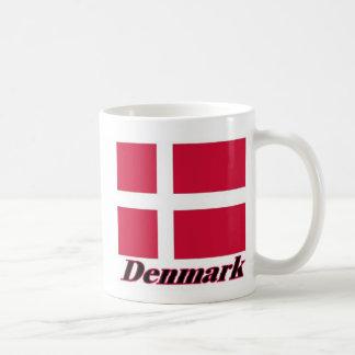 Danish Flag and Name Coffee Mug