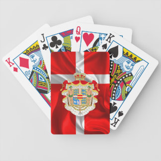 Danish flag-Coat of arms Bicycle Playing Cards