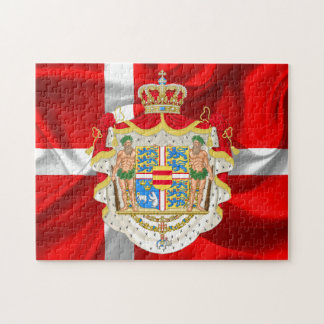 Danish flag-Coat of arms Jigsaw Puzzle