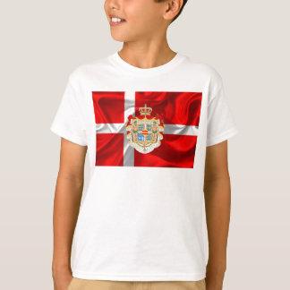 Danish flag-Coat of arms T-Shirt
