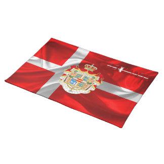 Danish flag placemat