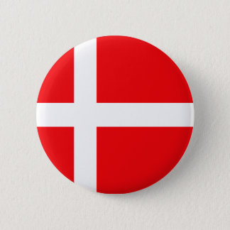 Danish Flag T-shirts and Gifts 2 Inch Round Button