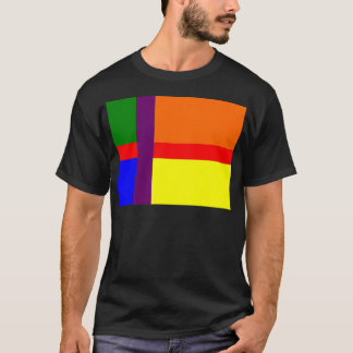 Danish Gay Pride Flag T-Shirt