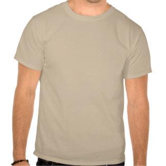 Danish Girl Silhouette Flag Tee Shirt