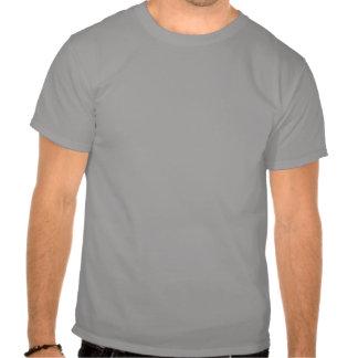Danish Girl Silhouette Flag T Shirt