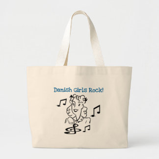 Danish Girls Rock Large Tote Bag