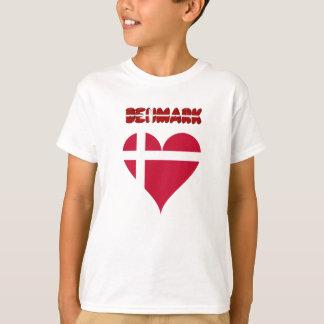 Danish heart flag T-Shirt