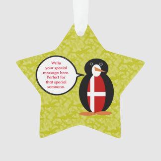 Danish Holiday Mr. Penguin Ornament
