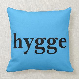 Danish language hygge means comfort throw pillow
