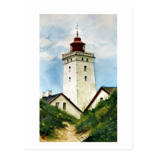 Danish Lighthouse Postcard