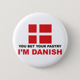 Danish Pastry 2 Inch Round Button