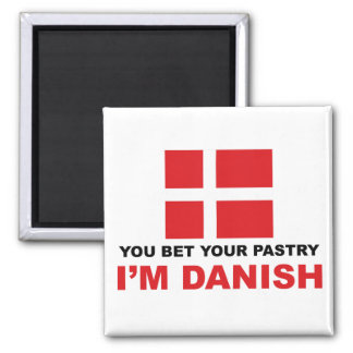 Danish Pastry Fridge Magnets