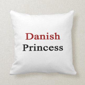 Danish Princess Throw Pillow