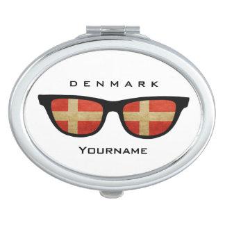 Danish Shades custom pocket mirror Compact Mirror