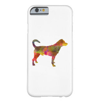 Danish swedish farmdog 01 in watercolor 2 barely there iPhone 6 case