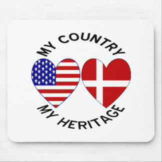 Danish USA Heritages Mouse Pad