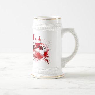 Danish Viking Soccer Football Fudbold gifts Beer Stein
