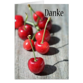 Danke - thank you in German Card