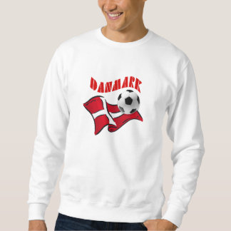 Danmark soccer fudbold flag of Denmark gear Sweatshirt