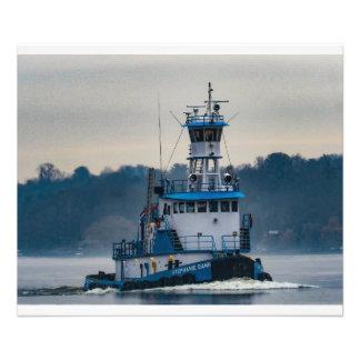 Dann Ocean Tug--Stephanie Dann--Running Light Photo Print