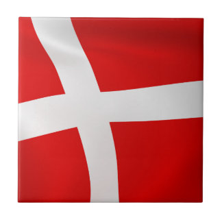 Dannebrog - The Danish Flag Tile
