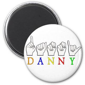 DANNY FINGERSPELLED ASL NAME SIGN MAGNET