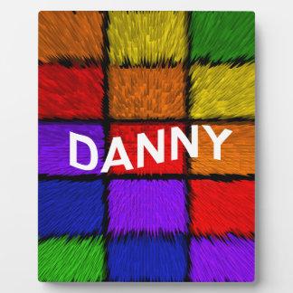 DANNY PLAQUE