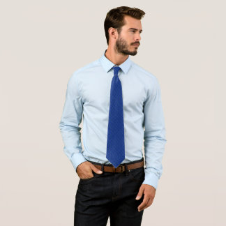 Danny Regal Blue Diamond Satin Pattern Tie