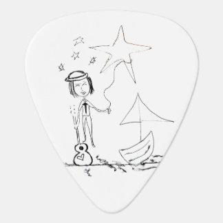 Danny's Ship - Guitar Pick