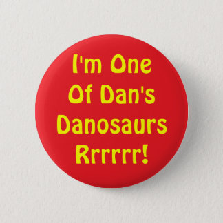 Danosaur Button