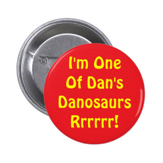Danosaur Button