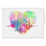 Dans l'amour A2 Carte De Vœux