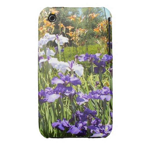 Dans le cas de l'iPhone 3 de jardin d'iris Coques Case-Mate iPhone 3