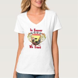 Dans le football nous faisons confiance à la pièce t-shirt