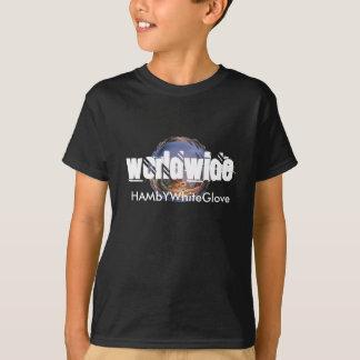 Dans le monde entier T-shirt de 3 HAMbyWG Tagless