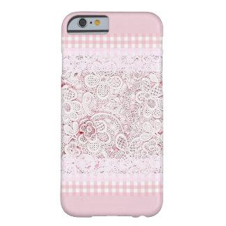Dans le rose et la dentelle coque barely there iPhone 6