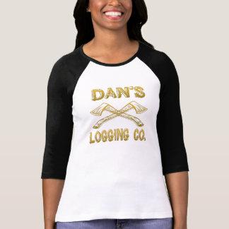 Dan's Logging Company T-shirts