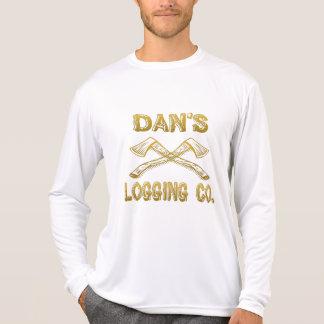 Dan's Logging Company T Shirts