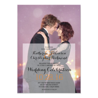 Danse affectueuse de couples dans la ville/mariage carton d'invitation  12,7 cm x 17,78 cm